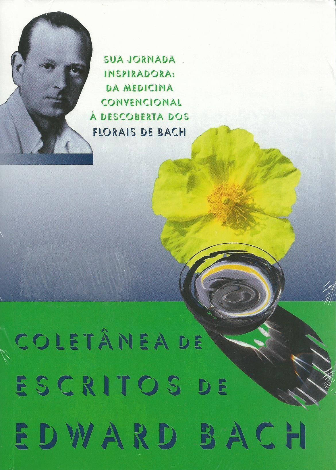 Livro Coletânea de Escritos de Edward Bach  - Floressência