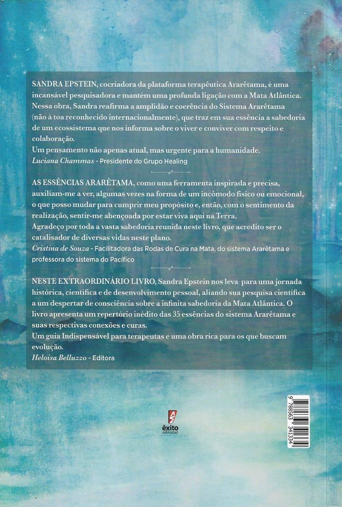 Livro Essências Vibracionais da Mata Atlântica  - Floressência