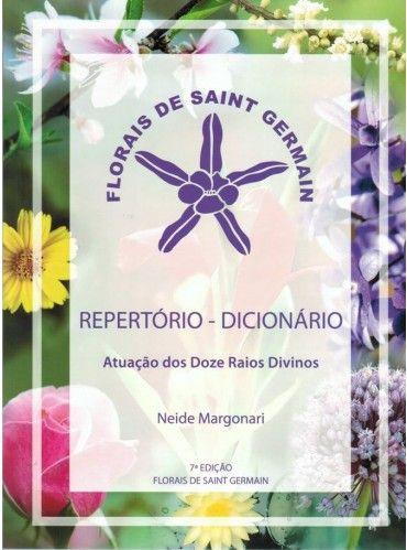 Livro Repertório - Dicionário Florais de Saint Germain  - Floressência