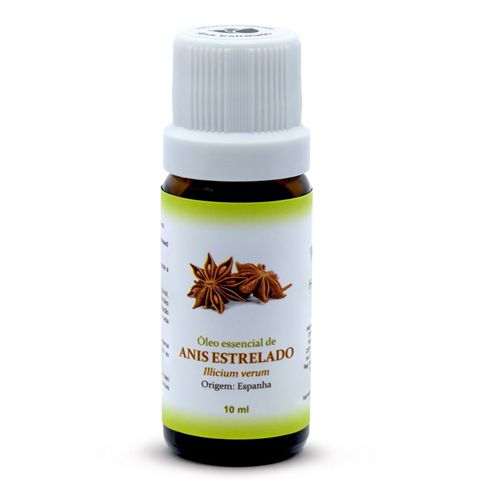 Óleo Essencial de Anis Estrelado - 10 ml  - Floressência