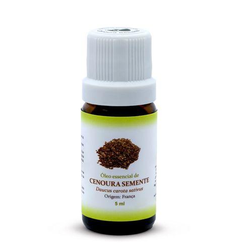 Óleo Essencial de Cenoura Semente - 5 ml  - Floressência