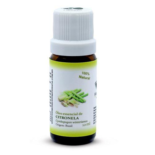 Óleo Essencial de Citronela - 10 ml