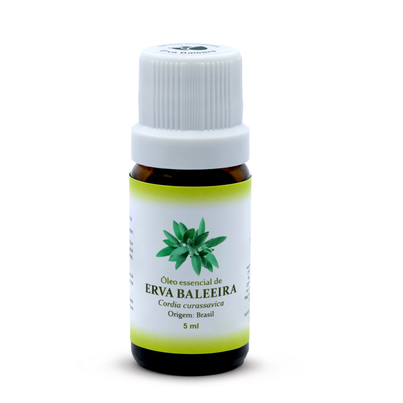 Óleo Essencial de Erva Baleeira - 5 ml