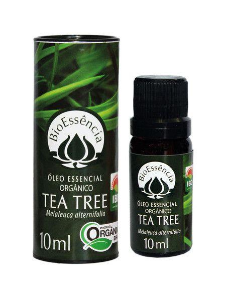 Óleo Essencial de Orgânico de Tea Tree - 10 ml  - Floressência
