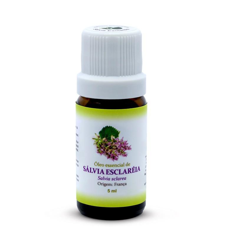 Óleo Essencial de Sálvia Esclaréia - 5 ml  - Floressência