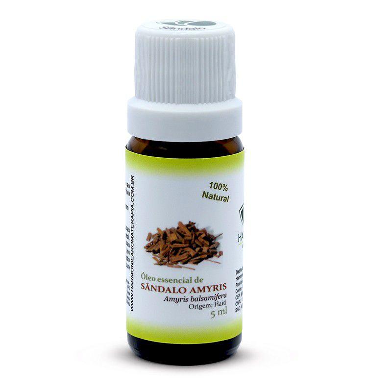 Óleo Essencial de Sândalo Amyris - 5 ml  - Floressência