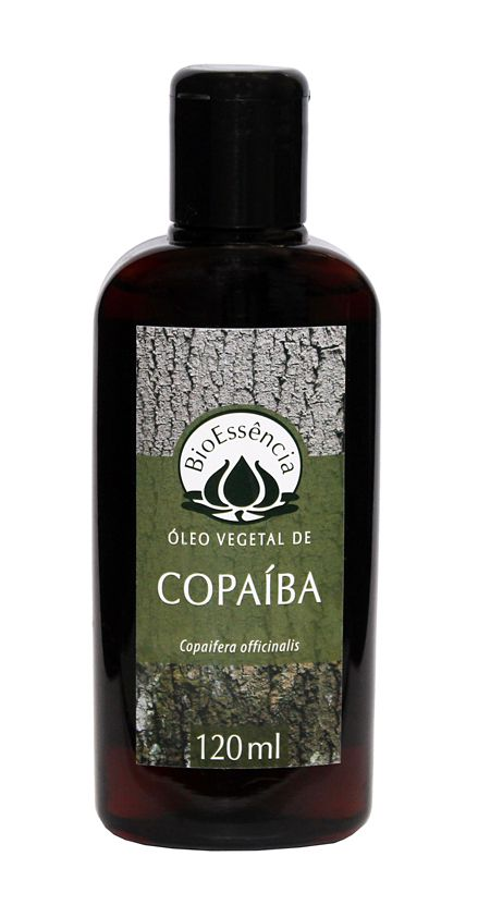 Óleo Vegetal de Copaíba - 120 ml  - Floressência