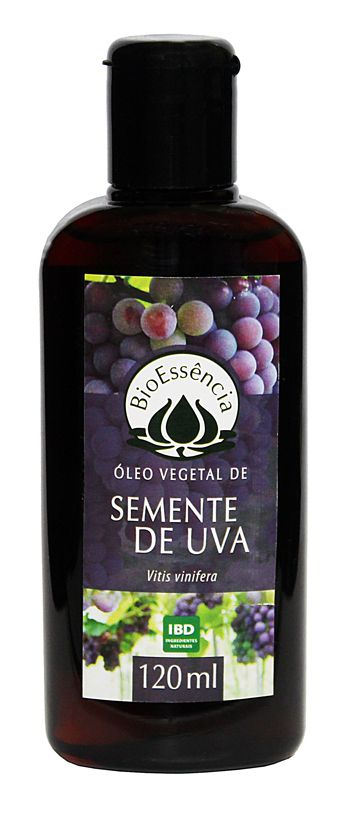 Óleo Vegetal de Semente de Uva - 120 ml  - Floressência