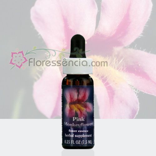 Pink MonkeyFlower - 7,5 ml  - Floressência