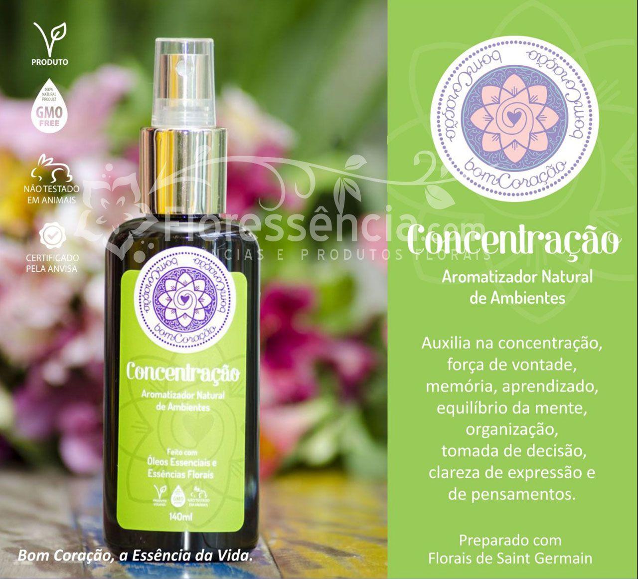 Spray Ambiental Concentração - 140 ml  - Floressência