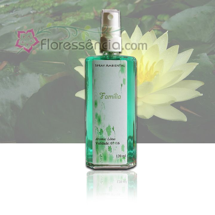 Spray Ambiental Família - 120 ml  - Floressência