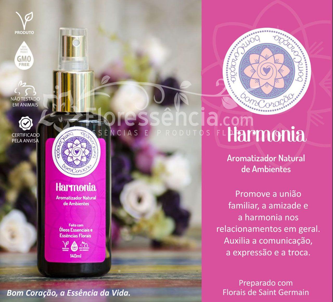 Spray Ambiental Harmonia - 140 ml  - Floressência