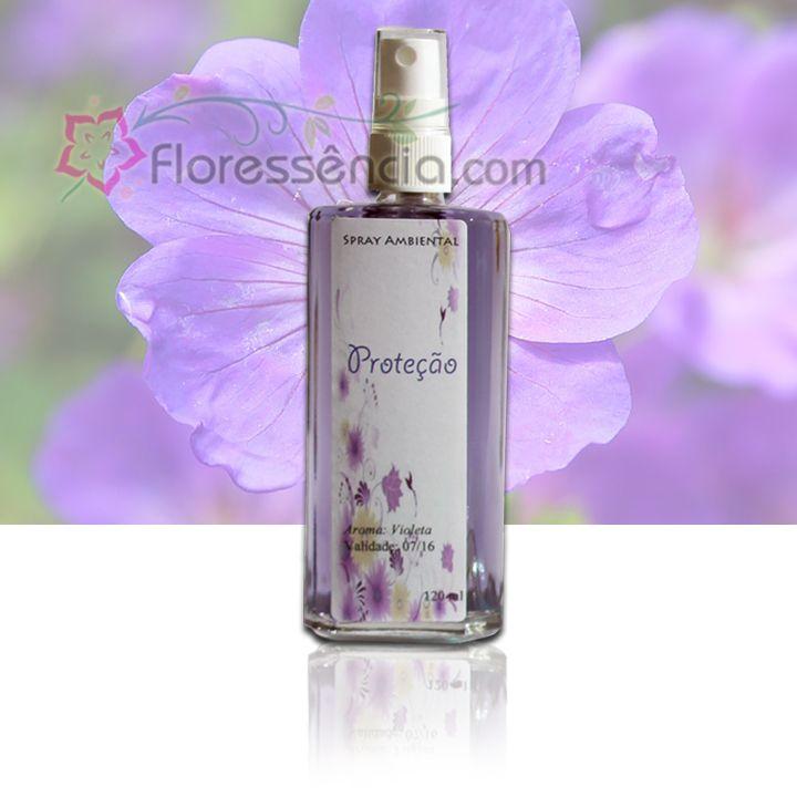 Spray Ambiental Proteção - 120 ml  - Floressência