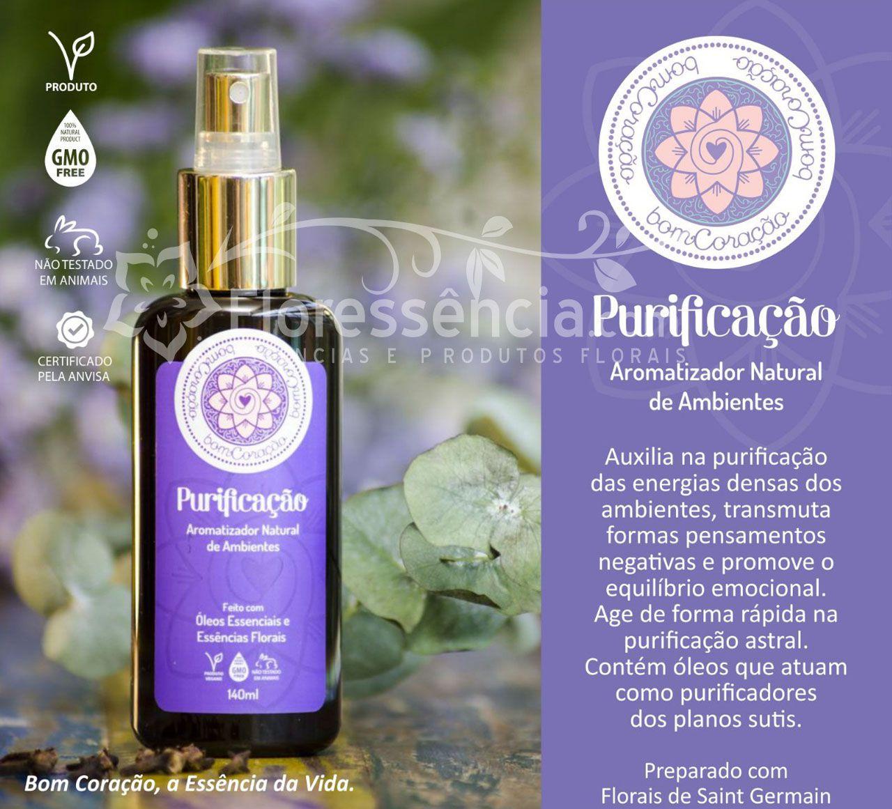Spray Ambiental Purificação - 140 ml  - Floressência