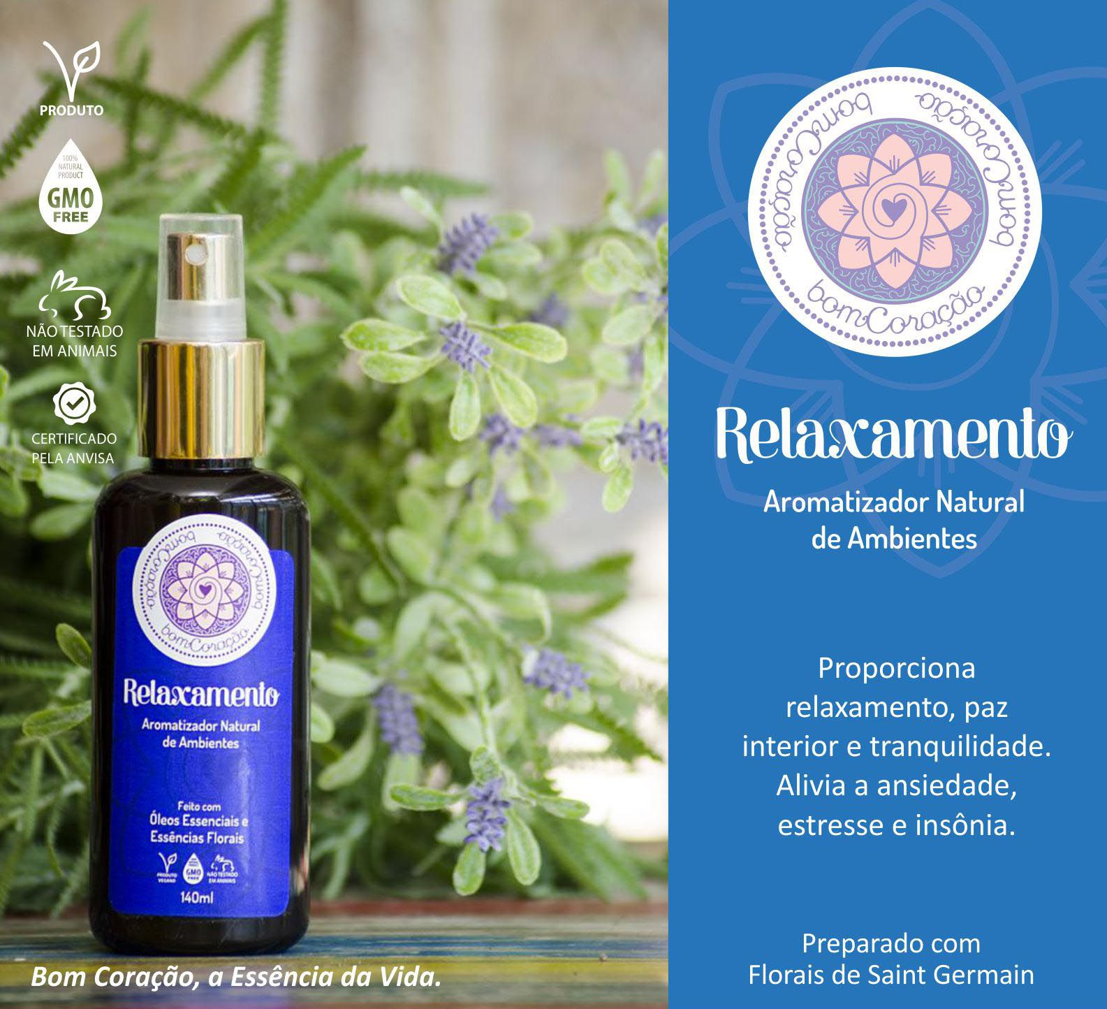 Spray Ambiental Relaxamento - 140 ml  - Floressência
