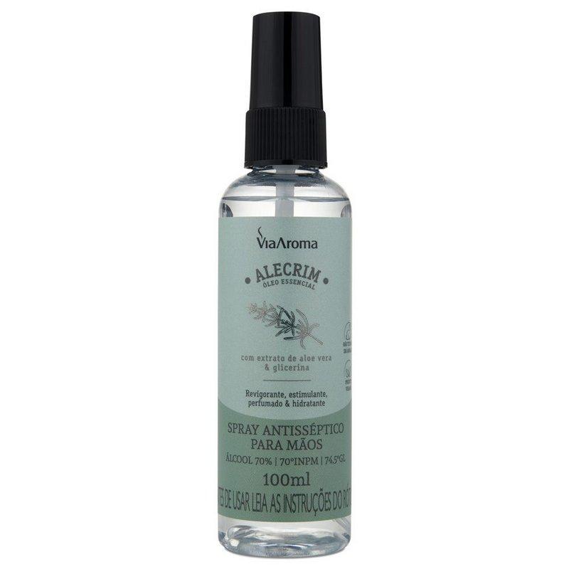 Spray Antisséptico Para Mãos - Alecrim - 100ml  - Floressência
