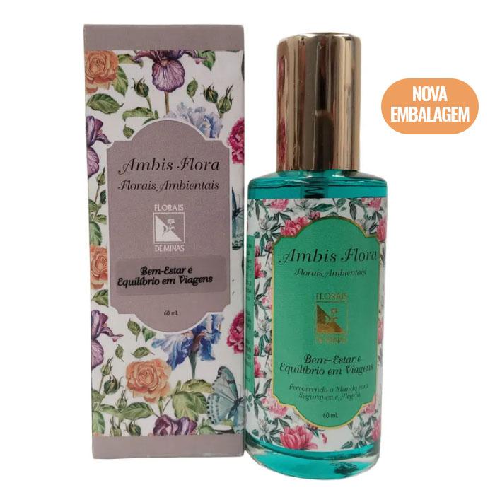 Spray Bem-Estar e Equilíbrio em Viagens - 60 ml  - Floressência