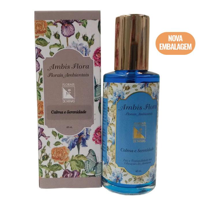 Spray Calma e Serenidade - 60 ml  - Floressência