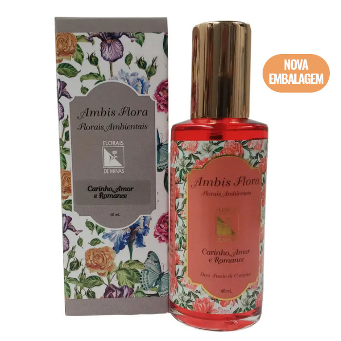 Spray Carinho, Amor e Romance - 60 ml  - Floressência