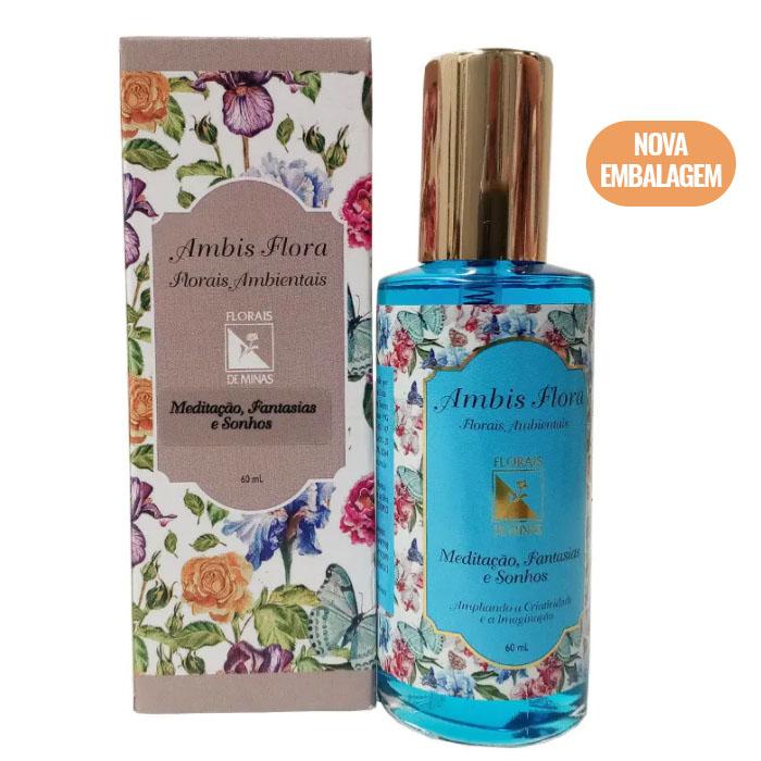 Spray Meditação, Fantasias e Sonhos - 60 ml  - Floressência