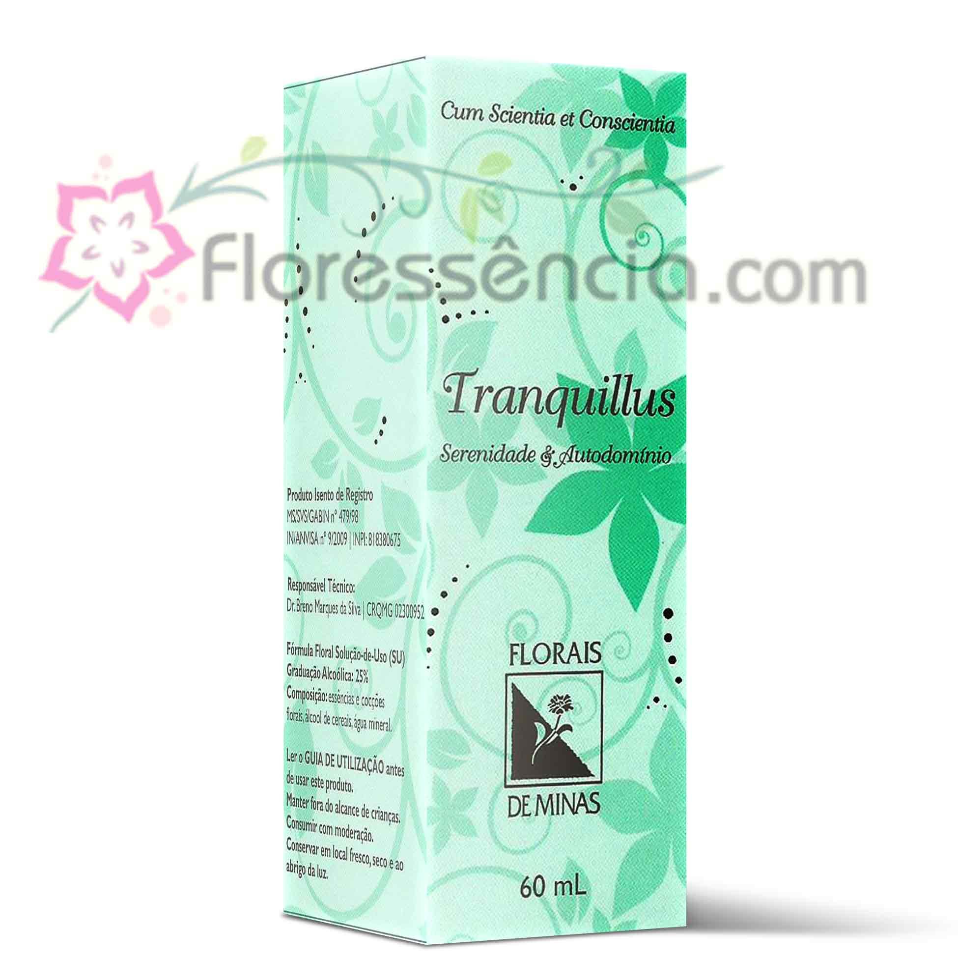 Tranquillus - 60 ml  - Floressência