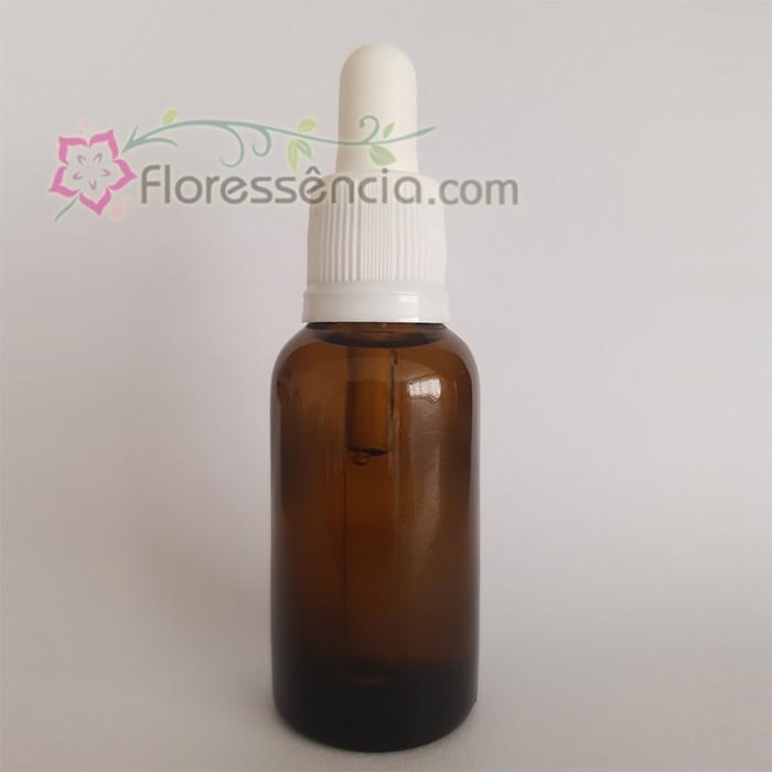 Vidro Âmbar com Conta-Gotas - 30 ml  - Floressência
