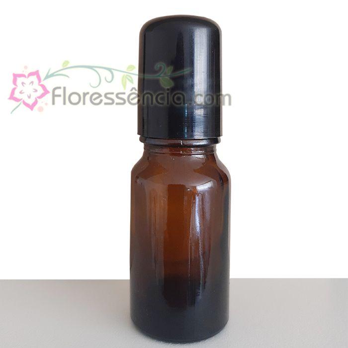 Vidro Âmbar com tampa roll-on - 10 ml  - Floressência