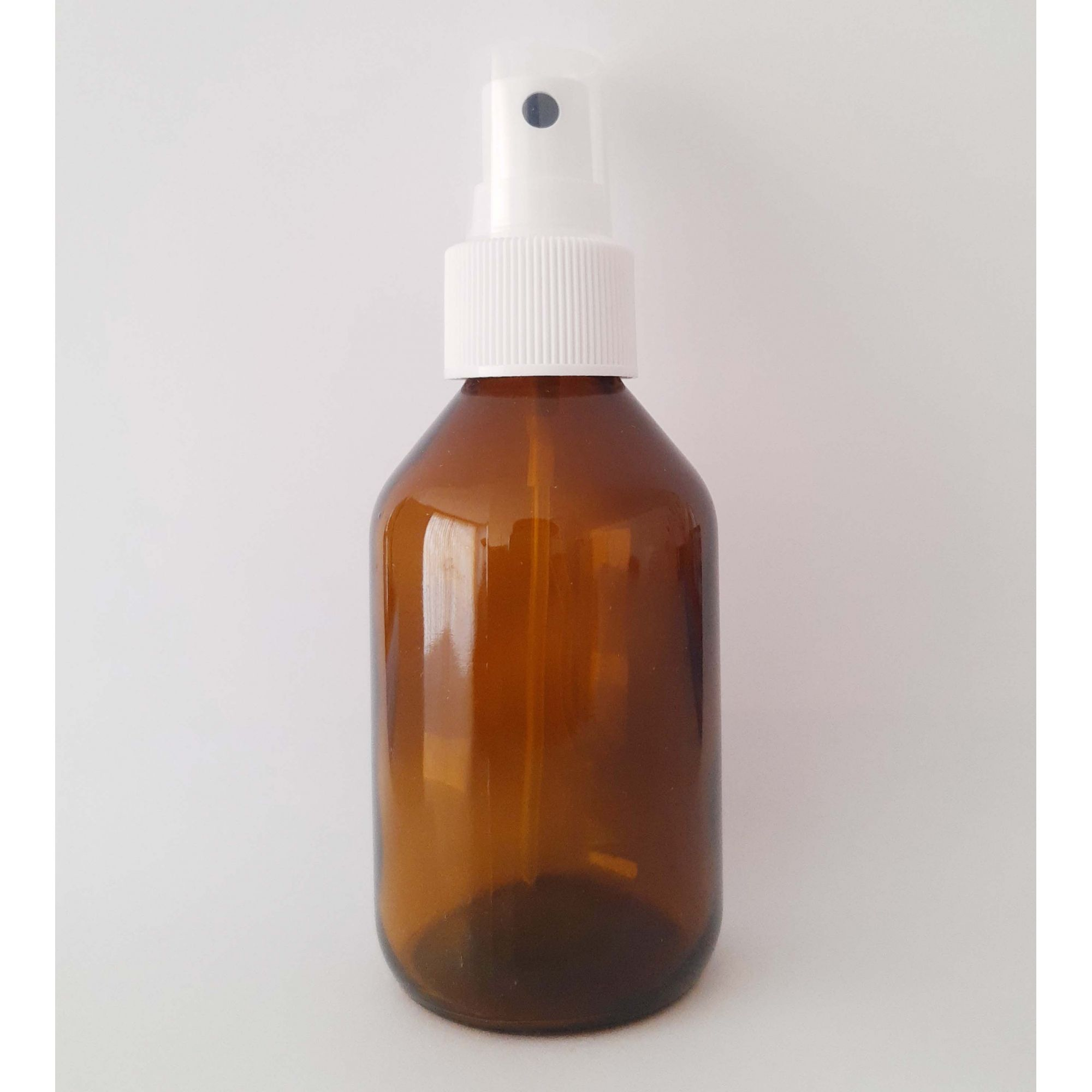 Vidro Âmbar com Válvula Spray - 100 ml  - Floressência