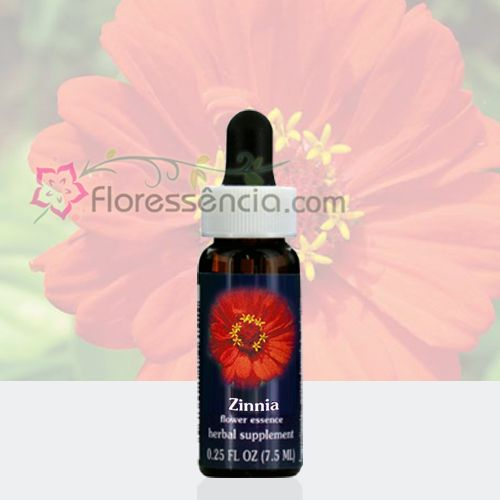 Zinnia - 7,5 ml  - Floressência
