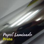 Laminado prata 1 Face Tam. A4 - 255g/m² - com 20 folhas