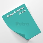 Papel Color Plus Aruba  tam. 32x65cm 180g/m² 50 Folhas