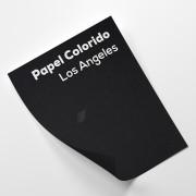 Papel Color Plus Los Angeles - Preto tam. 48x66cm 180g/m²