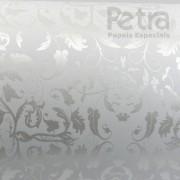 Papel Floral Ref 01 - Branco com Pérola - Tam. A4 - 180g/m²