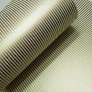 Papel Listrado - Pérola Champanhe com Dourado - Tam. A4 - 180g/m²