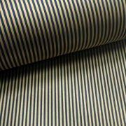Papel Listrado - Preto com Dourado - Tam. A4 - 180g/m²