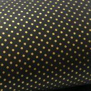 Papel Poás - Preto com Dourado - Tam. A4 - 180g/m²