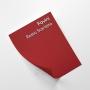 Favini  - Rosso Scarlatto - Vermelho - Tam. A4 - 180g/m² - 20 folhas