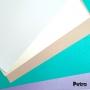 Kit Baby- Papéis Perolados 180g/m² - Tons Pastéis - A4 50 Folhas