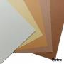 Kit Caramelo- Papéis Color Plus 180g/m² - Tons Terrosos - A4 50 Folhas