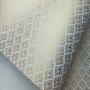 Papel Arabesco Branco com Dourado - Tam. A4 - 180g/m²