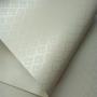 Papel Arabesco Perola Champanhe com Branco - Tam. 30,5x30,5cm - 180g/m²