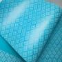 Papel Arabesco  Pérola Azul com Branco - Tam. A4 - 180g/m²