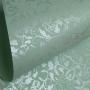 Papel Floral Ref 01 - Verde Claro com perola  - Tam. 30,5x30,5 - 180g/m²
