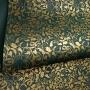 Papel Floral Ref 01 - Verde Escuro com Dourado - Tam. A3 - 180g/m²