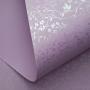 Papel Floral Ref 03 - Lilás com Perola - Tam. A3 - 180g/m²