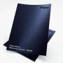 Papel Pérola Azul Escuro Tam. 30,5x30,5 - 180g/m²