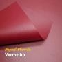 Papel Pérola Vermelho - Pimenta -  Tam: A4 180g/m² 20 folhas