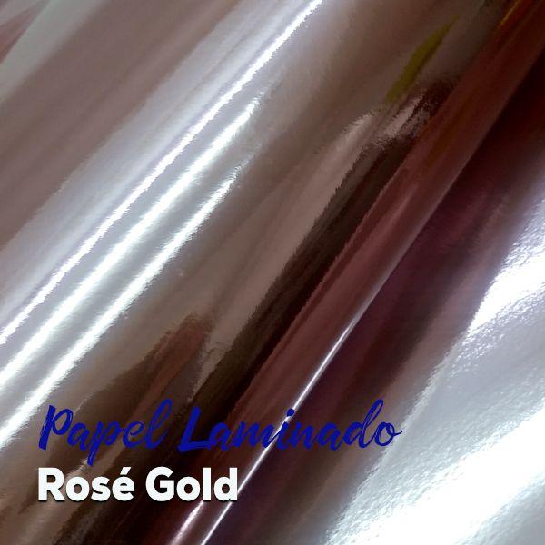 Laminado Rosé 1 Face Tam. A4 - 250g/m² - com 20 folhas