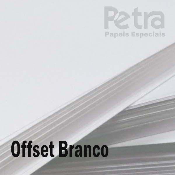 Offset / Branco 240g/m²  Tamanho A4
