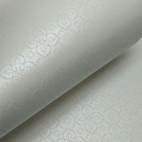 Papel Adamascado -  Pérola com Branco - Tam. A3 - 180g/m²